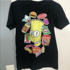 Vintage simpsons graphic tee